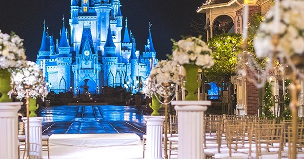 Weddings Cinderella's Castle