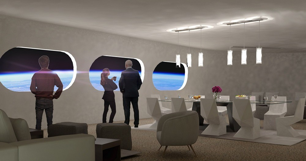 Von Braun - Interior -Suite Lounge