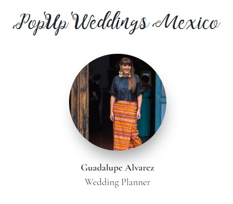 Guadalupe Alvarez Pop UP Wedding