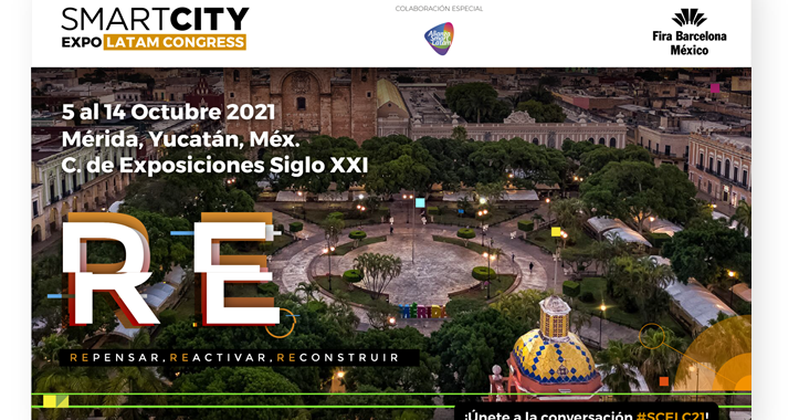 Smart City Expo Latam Congress 2021 / Yucatán