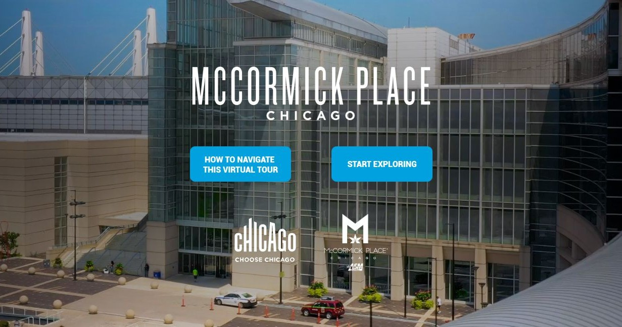 McCormick Place Virtual Tour 360°